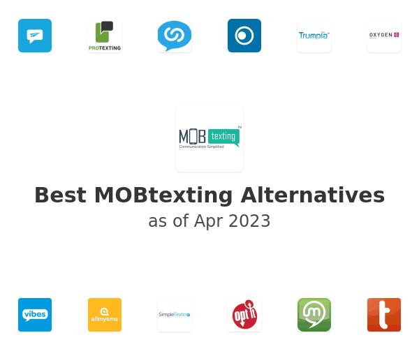 Best MOBtexting Alternatives