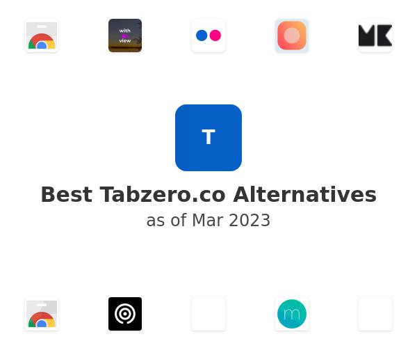 Best Tabzero Alternatives