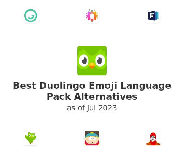 Best Duolingo Emoji Language Pack Alternatives