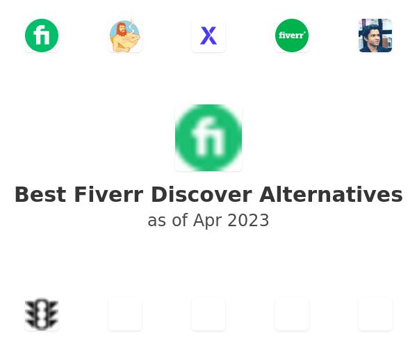 Best Fiverr Discover Alternatives