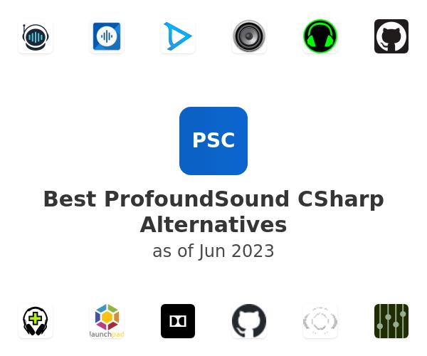 Best ProfoundSound CSharp Alternatives