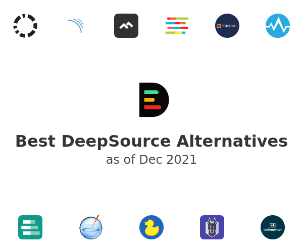 Best DeepSource Alternatives