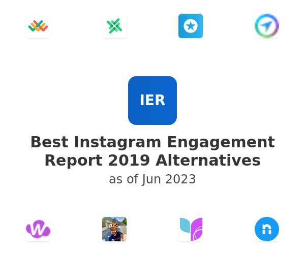 Best Instagram Engagement Report 2019 Alternatives