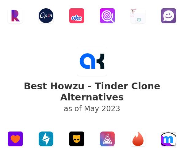 Best Howzu - Tinder Clone Alternatives
