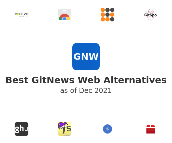 Best GitNews Web Alternatives