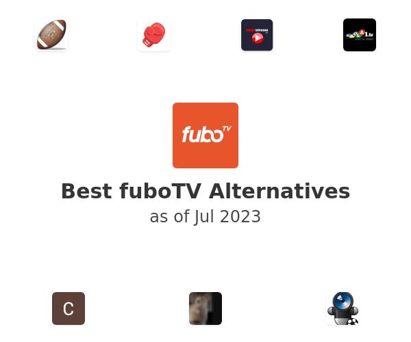 Best fuboTV Alternatives