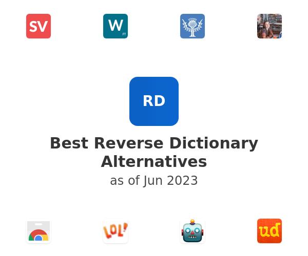 Best Reverse Dictionary Alternatives