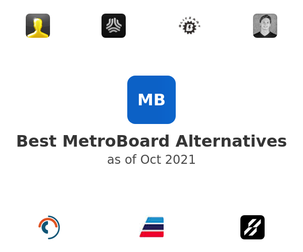 Best MetroBoard Alternatives