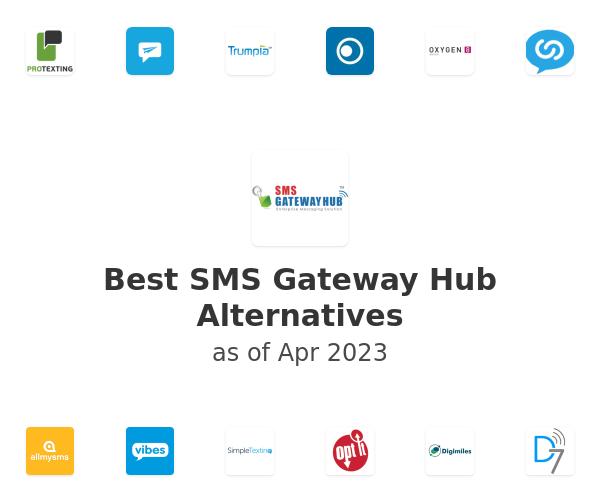 Best SMS Gateway Hub Alternatives