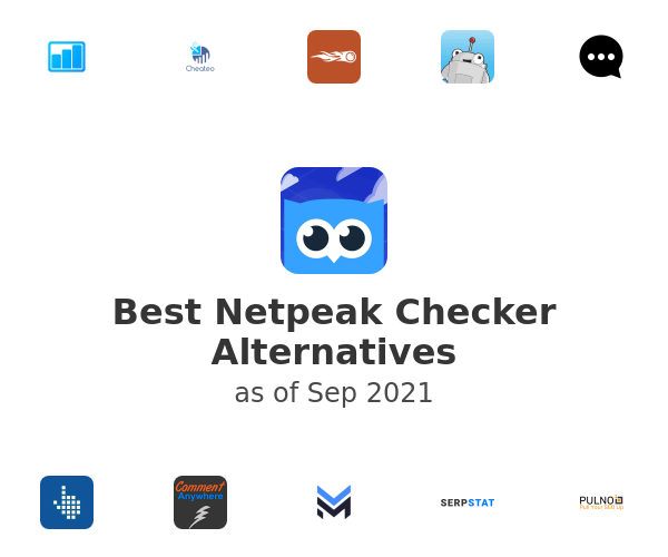 Best Netpeak Checker Alternatives