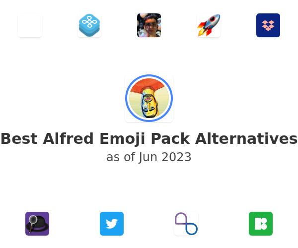Best Alfred Emoji Pack Alternatives
