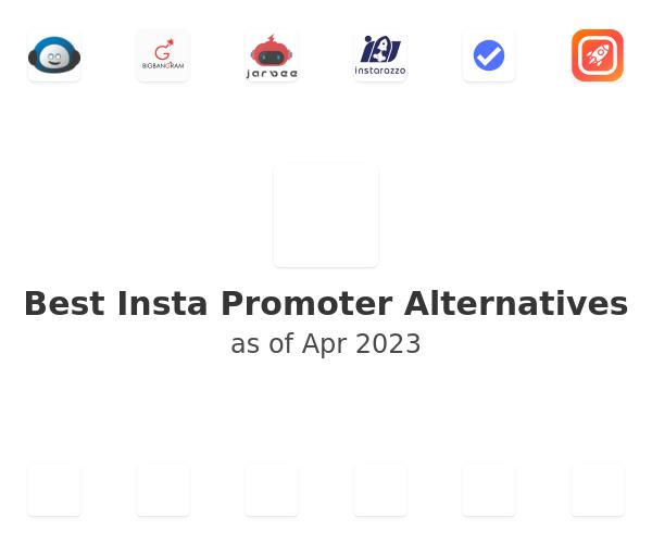 Best Insta Promoter Alternatives