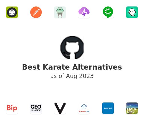 Best Karate Alternatives