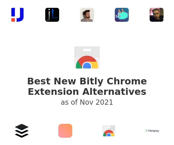 Best New Bitly Chrome Extension Alternatives