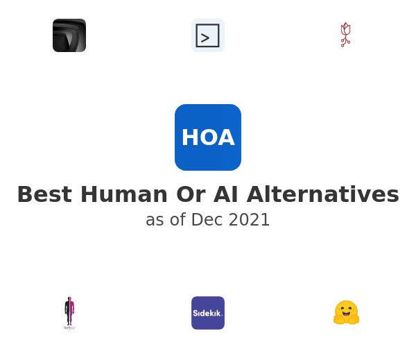 Best Human Or AI Alternatives