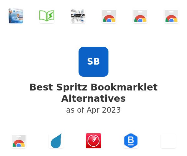 Best Spritz Bookmarklet Alternatives