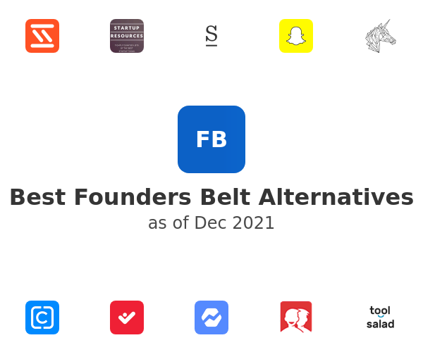 Best Founders Belt Alternatives
