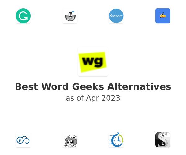 Best Word Geeks Alternatives