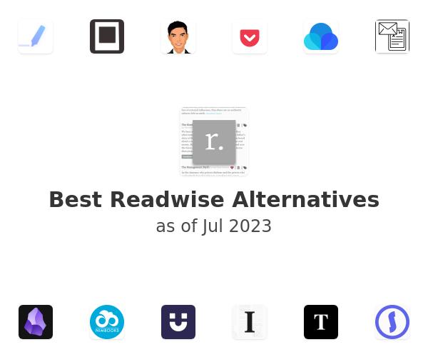 Best Readwise Alternatives