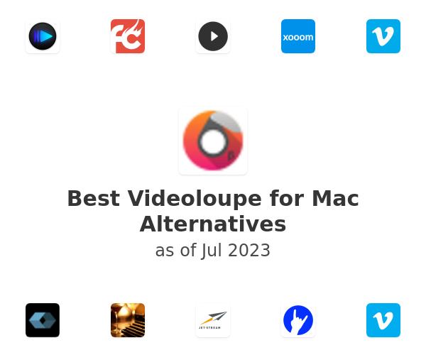 Best Videoloupe for Mac Alternatives