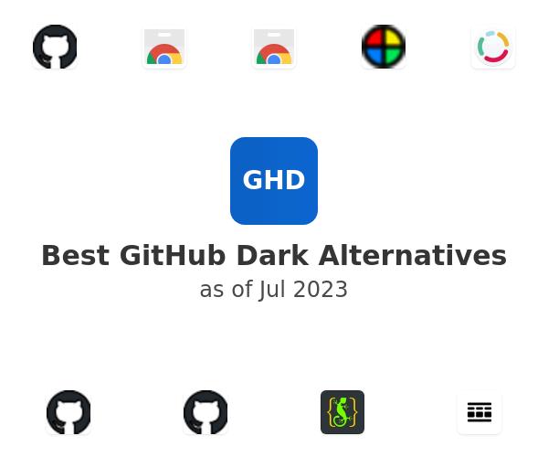 Best GitHub Dark Alternatives