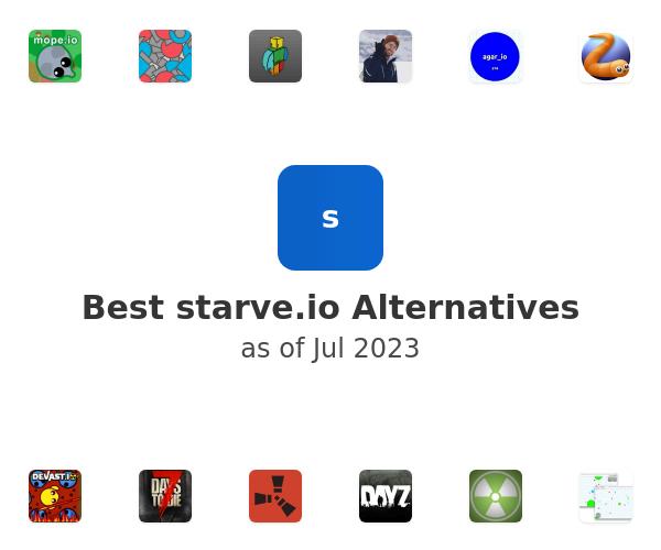 Best starve.io Alternatives