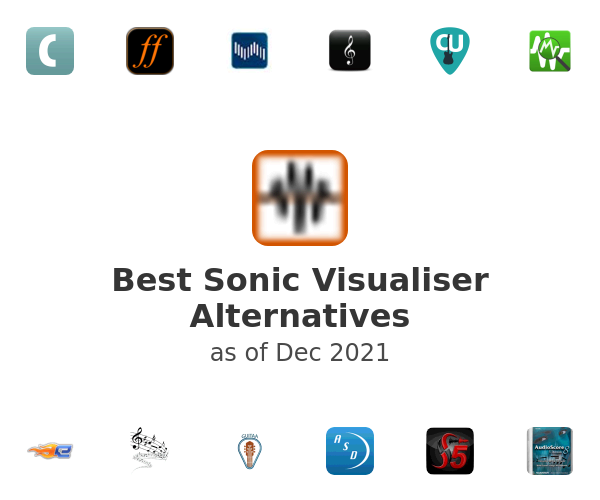 Best Sonic Visualiser Alternatives