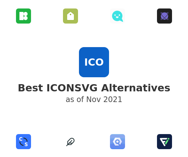 Best ICONSVG Alternatives