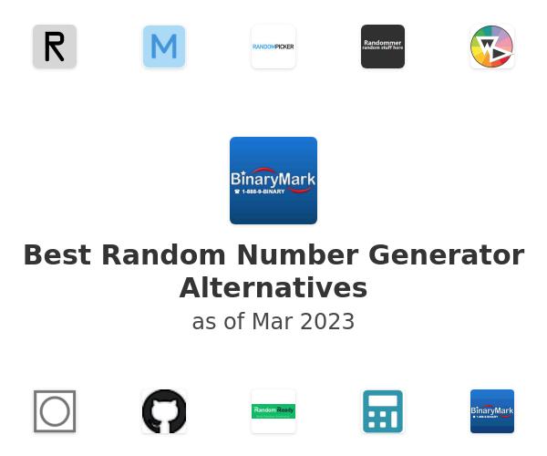 Best Random Number Generator Alternatives