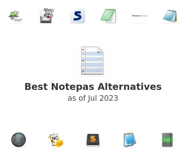 Best Notepas Alternatives
