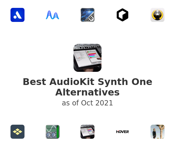 Best AudioKit Synth One Alternatives