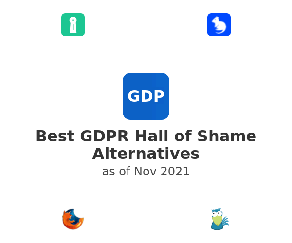 Best GDPR Hall of Shame Alternatives