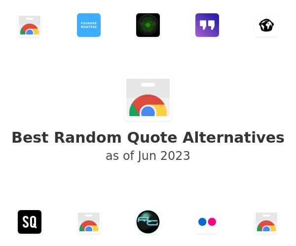 Best Random Quote Alternatives