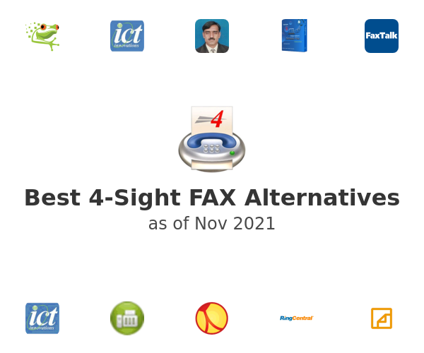 Best 4-Sight FAX Alternatives