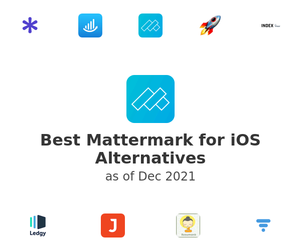 Best Mattermark for iOS Alternatives