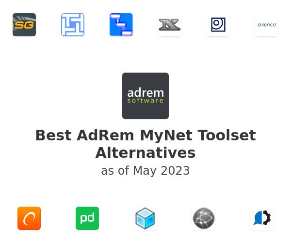 Best AdRem MyNet Toolset Alternatives