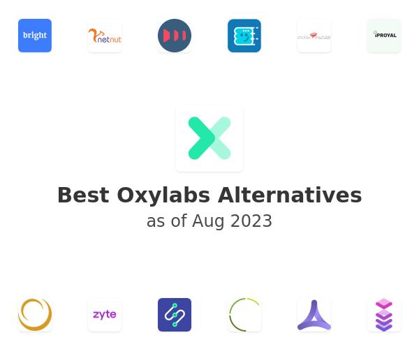 Best Oxylabs Alternatives