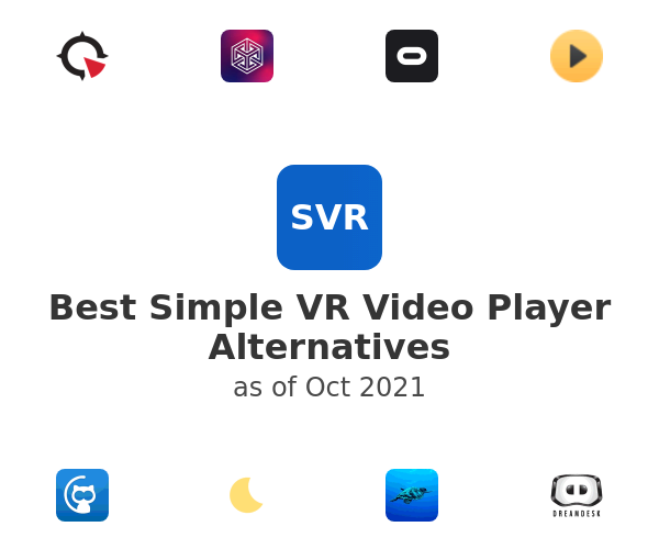 Best Simple VR Video Player Alternatives