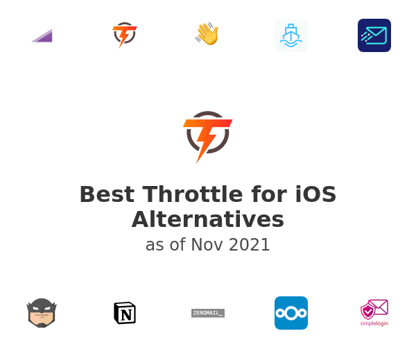 Best Throttle for iOS Alternatives