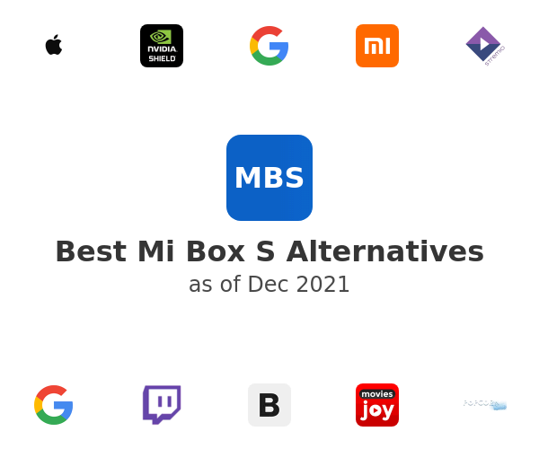 Best Mi Box S Alternatives