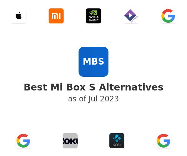 Best Mi Box S Alternatives