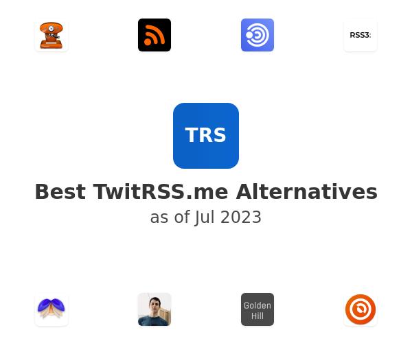 Best TwitRSS.me Alternatives