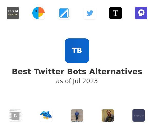 Best Twitter Bots Alternatives