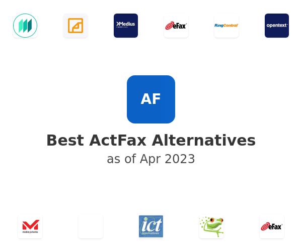 Best ActFax Alternatives