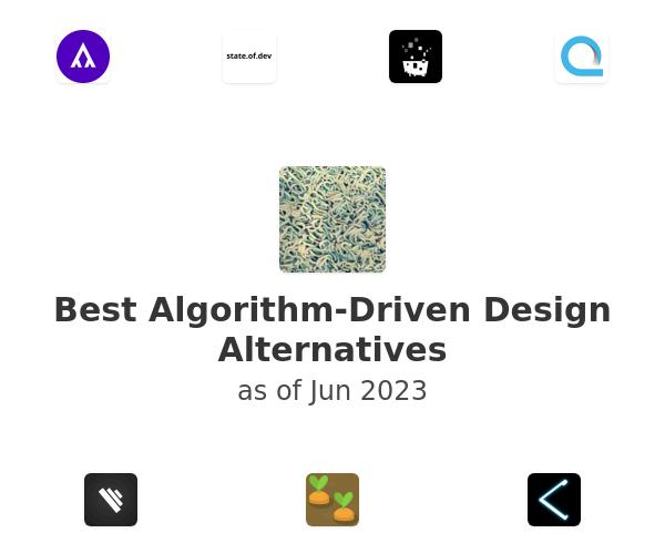 Best Algorithm-Driven Design Alternatives