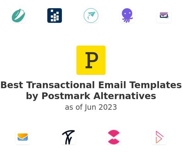 Best Transactional Email Templates by Postmark Alternatives