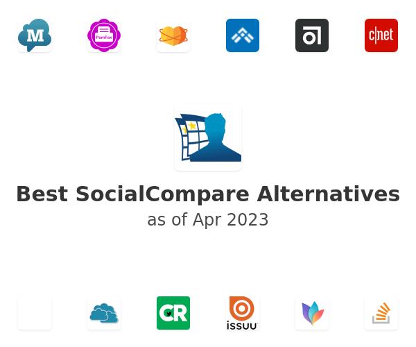 Best SocialCompare Alternatives