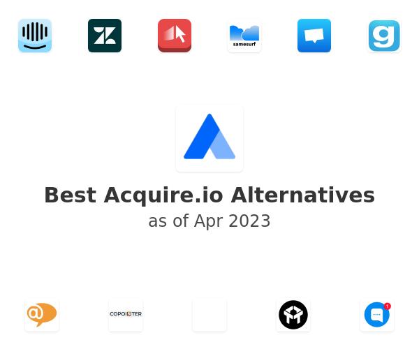 Best Acquire.io Alternatives