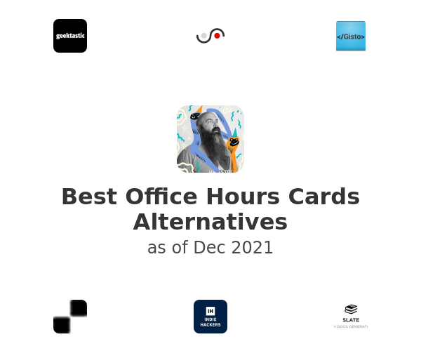 Best Office Hours Cards Alternatives