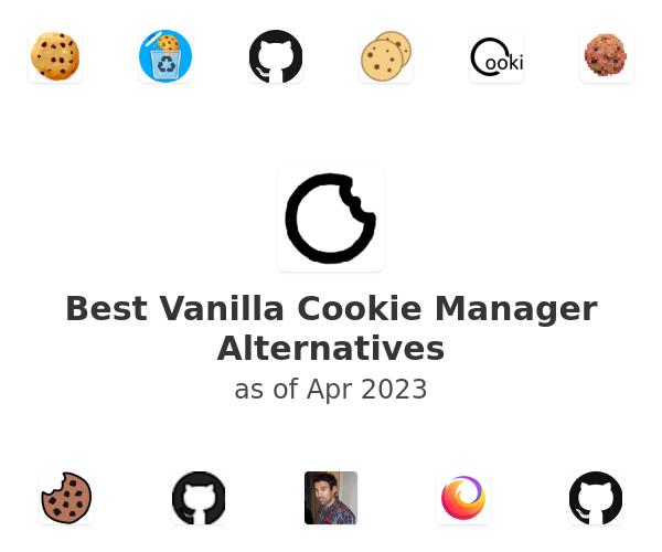 Best Vanilla Cookie Manager Alternatives